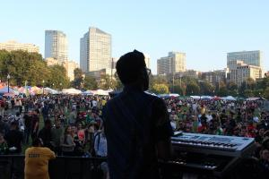 Mighty Mystic at the 2017 Boston Freedom Rally